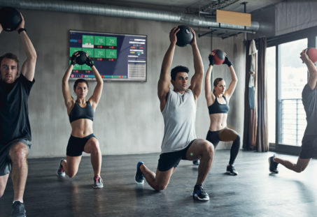 equipo de gimnasio clases